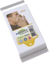 Antibakteriális Aquella nedves törlőkendő